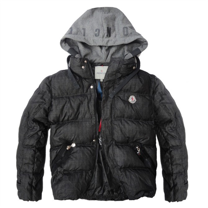 Cheap Moncler Jackets For Men Black MC1004 Sale